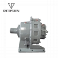B/X series cycloidal gearbox with motor
