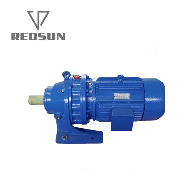 B/X series cycloidal gearbox with motor 4