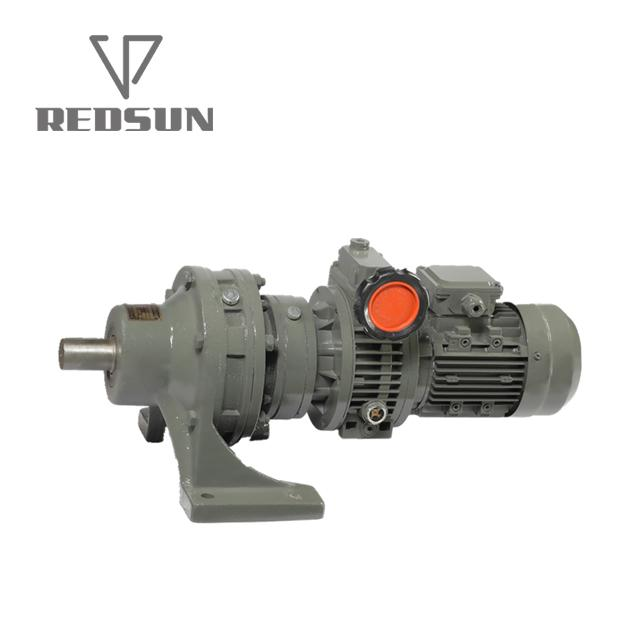 B/X series cycloidal gearbox with motor 5