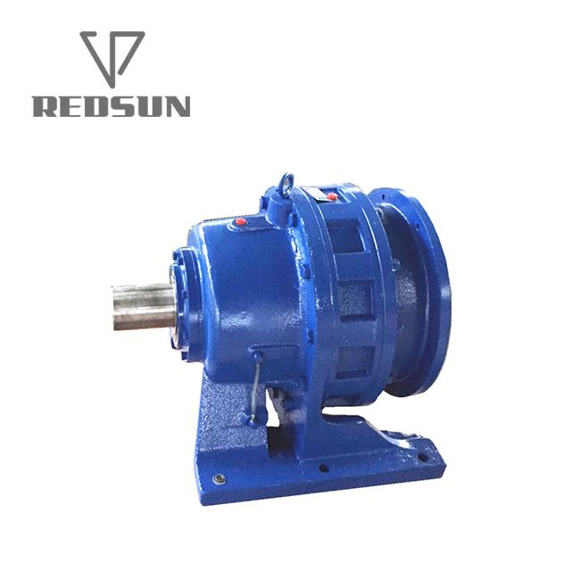 B/X series cycloidal gearbox with motor 7