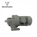 B/X series cycloidal gearbox with motor 8