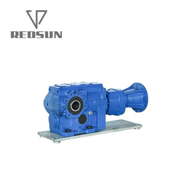 Bevel bevel gearbox for tractor plastic machinery 3