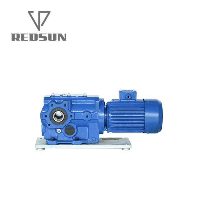 90 degree bevel speed gearbox for traction 1
