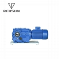 90 degree bevel speed gearbox for traction