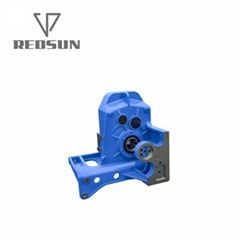 F parallel shaft helical gearbox for Reinforced bending centre