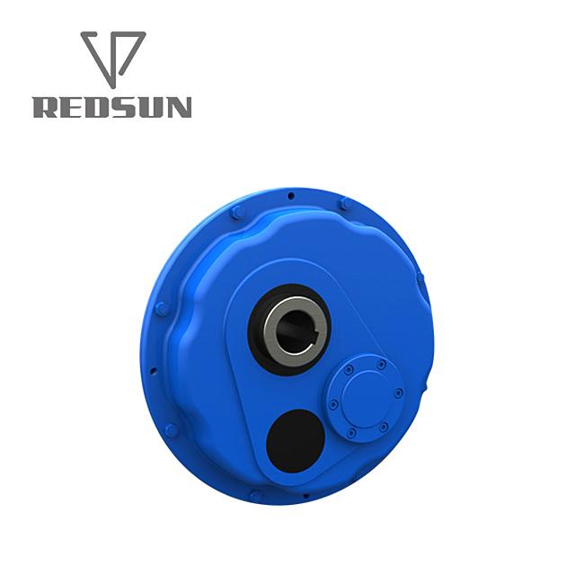 Shaft Mounting Helical Gear Gearbox  5