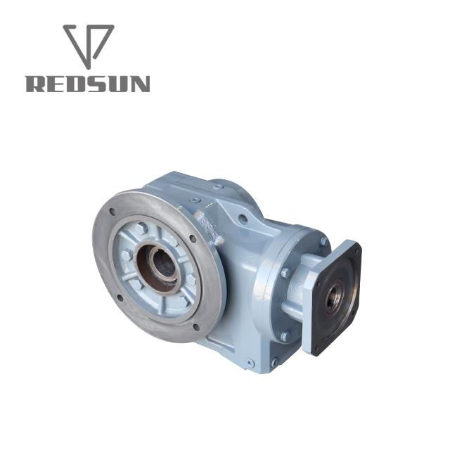 K helical bevel right angle gearbox 2