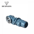 K helical bevel right angle gearbox 6