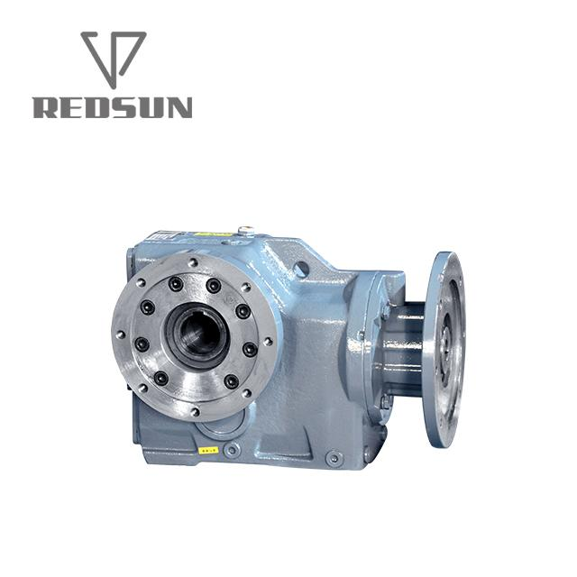 K helical bevel right angle gearbox 4