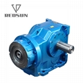 K helical bevel 90 degree gear box