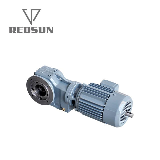 K series helical bevel gear motor 3