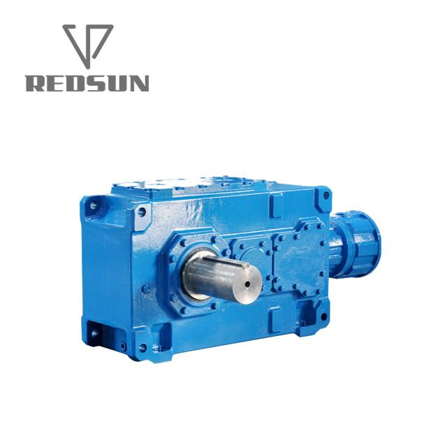 B series 90 degree right angle bevel gear box 5