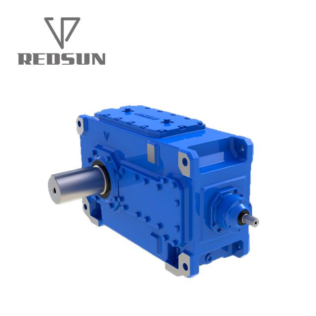 B series 90 degree right angle bevel gear box 6