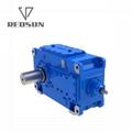 B系列90度直角軸工業齒輪箱 6