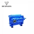 B series 90 degree right angle bevel gear box 1