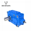 B series 90 degree right angle bevel gear box 7