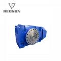 B系列90度直角軸工業齒輪箱 4