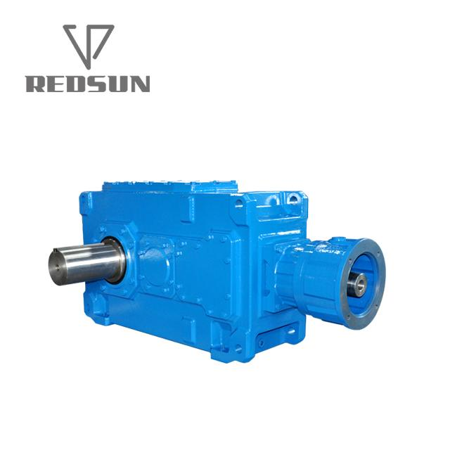 B series 90 degree right angle bevel gear box 8