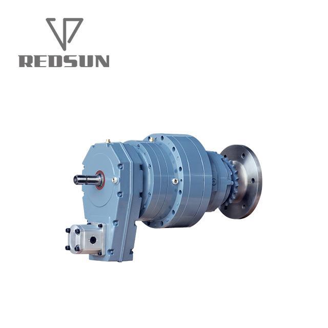 带皮带传动的工业齿轮装置 2