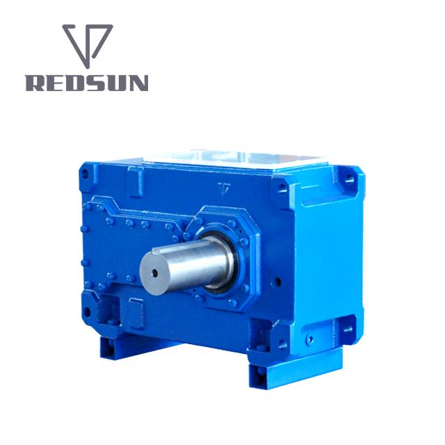 H Series Parallel Shaft Industrial Helical Hollow Output Shaft Gearbox 1