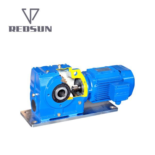 SA斜齿轮涡轮蜗杆减速器 1