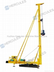 Foot-step Diesel Hammer Piling Machine