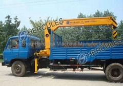 Telescopic Boom Truck-mounted Crane