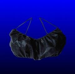 Single use underwear bra