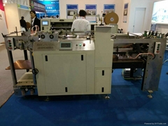 Hard cover  calendar pp sheet punching machine