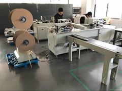Calnedar wire o binding and hole punching  machine PWB580