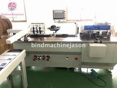 Automatic double wire binding machine PBW580