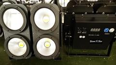 YY-C004B  4x100W LED COB  blinder wash light with cool white