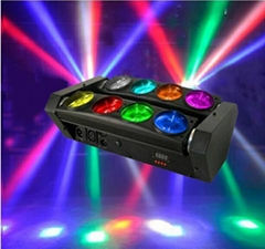 CREE COLORS 8x10W RGBW-1 LED Spider beam bar moving head