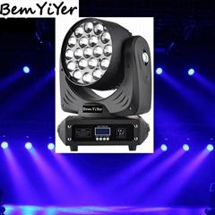 19顆10W四合一LED 調焦搖頭燈