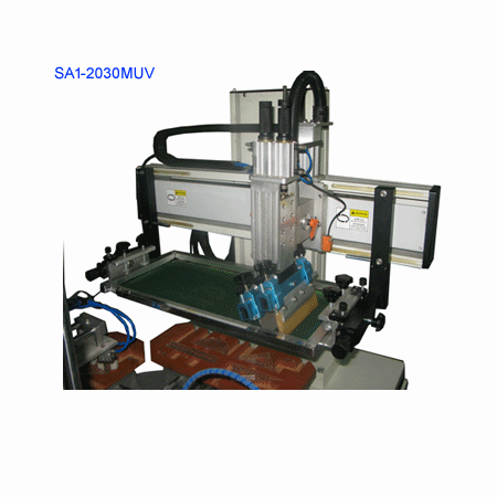 Automatically Meter screen printing machine 4