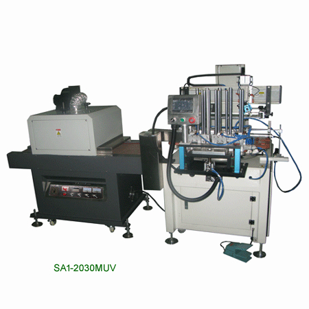 Automatically Meter screen printing machine 5