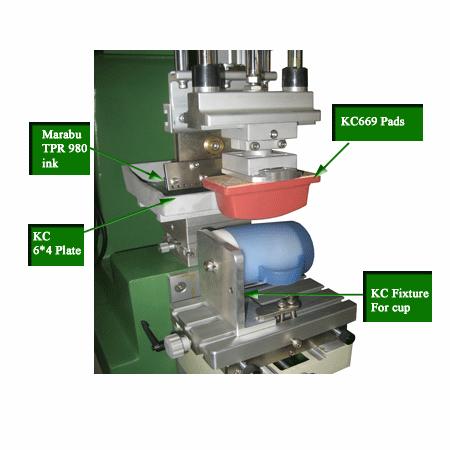 移印機-單色油盤 7
