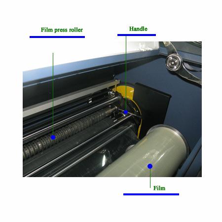 Laser phototype-setting machine 4