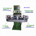 四色轉盤油盅移印機 2
