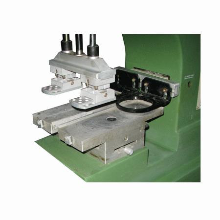 双色输送带油盅移印机 4