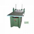 Manual vacuum table screen printer