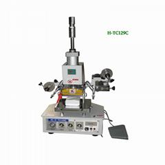 cloth label hot stamping machine(H-TC129C)