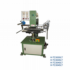 Clock hot stamping machine(H-TC3030LT)