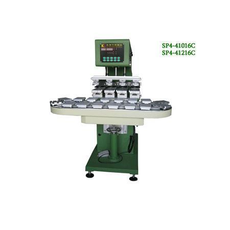 四色轉盤油盅移印機 1