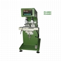Two colors pad printing machine