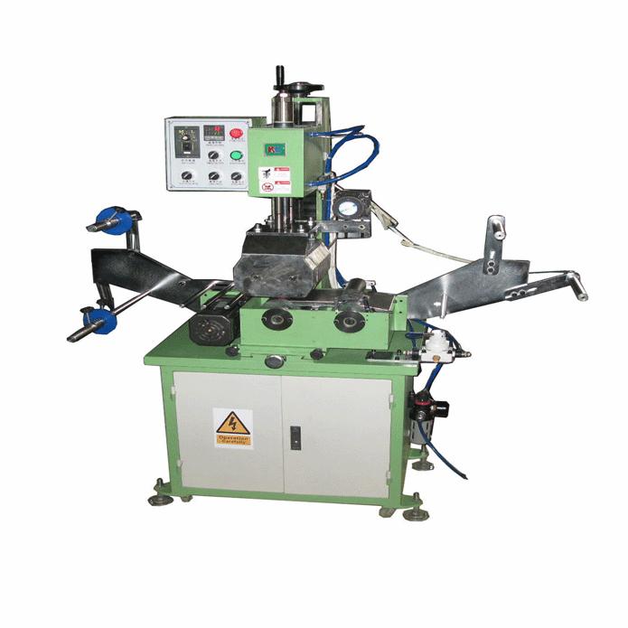 Webbing hot stamping machine 1