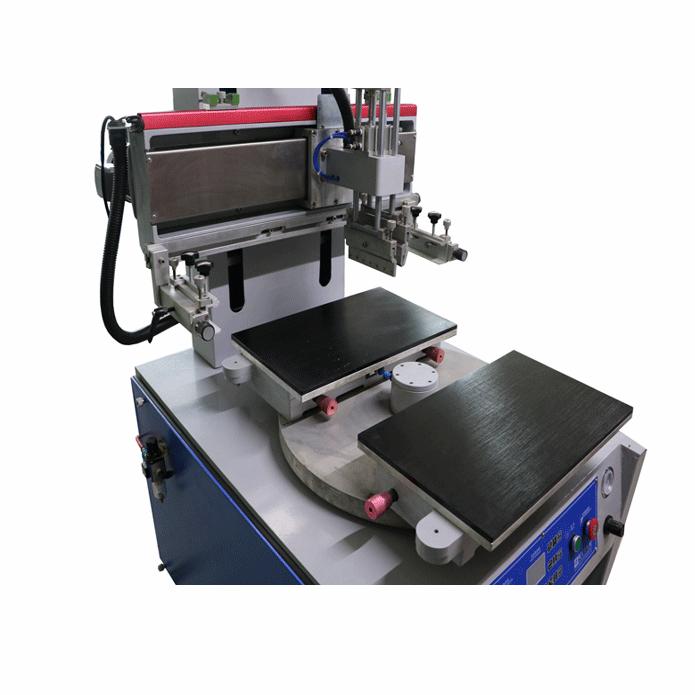 吸气式双工作台平面丝印机 2
