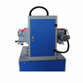 Double-table screen printer with vacuum table