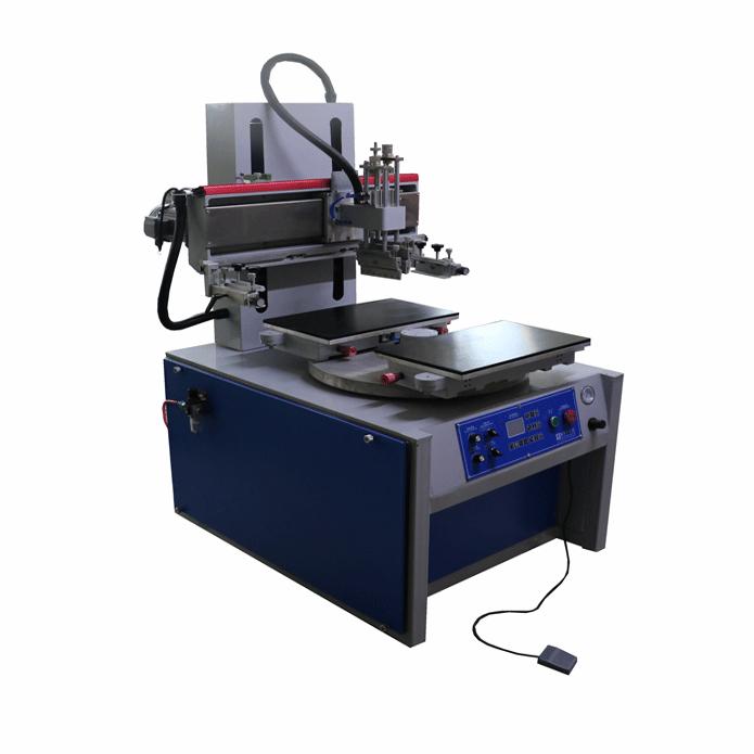 吸气式双工作台平面丝印机 1