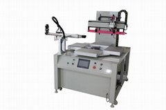 Flat screen Printer with truntable